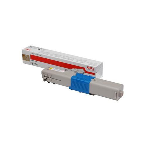 Oki C532/MC573 Laser Toner Cartridge Page Life 1500pp Yellow Ref 46490401