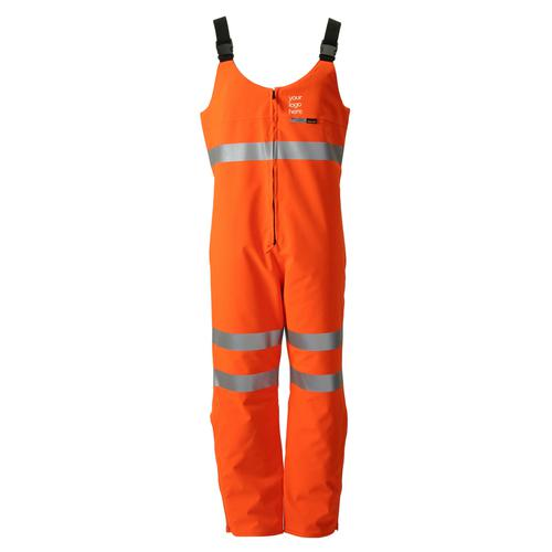 B-Seen Gore-Tex Foul Weather Salopette Orange S Ref GTHV14ORS *Up to 3 Day Leadtime*