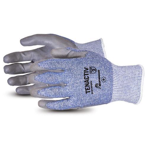Superior Glove Tenactiv Composite Knit Cut-Resistant PU 7 Grey Ref SUS15TAFGPU07 *Up to 3 Day Leadtime*