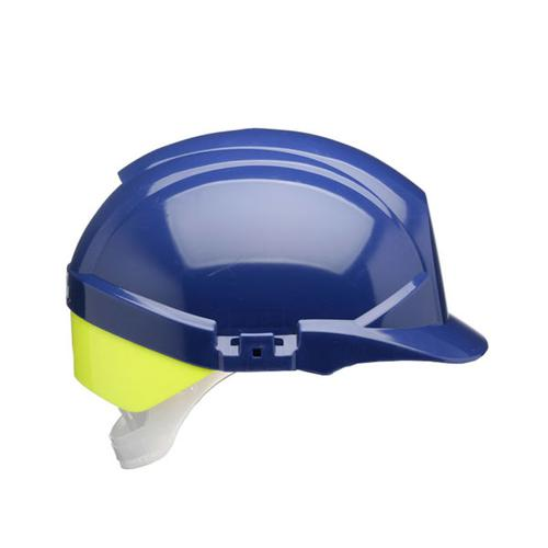 Centurion Reflex Safety Helmet Blue with Yellow Rear Flash Blue Ref CNS12BHVYA *Up to 3 Day Leadtime*