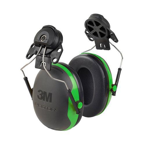 Peltor X1P3 Helmet Mounted Ear Defenders 26dB Green Ref X1P3 *Up to 3 Day Leadtime*
