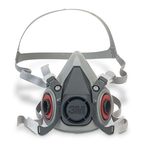 3M 6000 Series Half Mask Small Grey Ref 3M6100S *Up to 3 Day Leadtime*