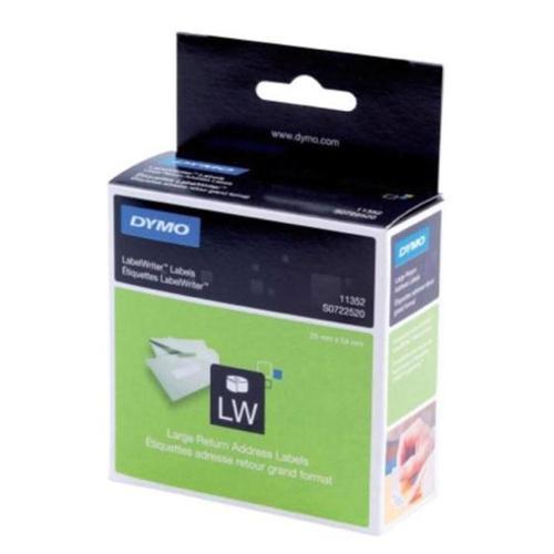 Dymo LabelWriter Labels International White Ref 11352 S0722520 [Pack 500]