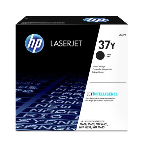 HP 37X Laser Toner Cartridge High Yield Page Life 41000pp Black Ref CF237Y