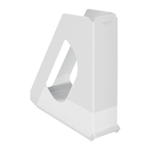 Rexel Choices Magazine File Capacity 60mm White Ref 2115606