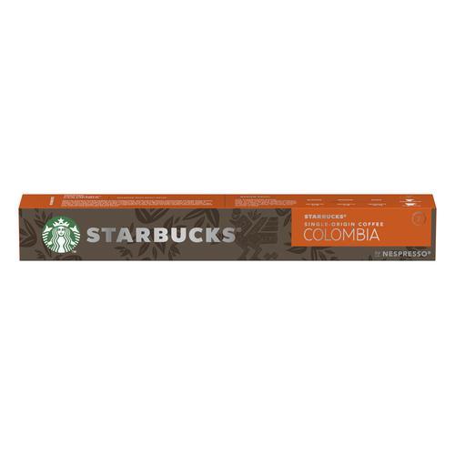 Starbucks by Nespresso Colombia Espresso 10x12x57g 120 Pods Ref 12423359