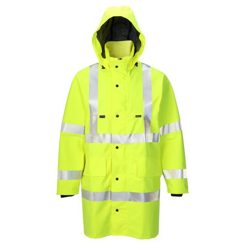 B-Seen Gore-Tex Jacket for Foul Weather 2XL Saturn Yellow Ref GTHV152SYXXL *Up to 3 Day Leadtime*