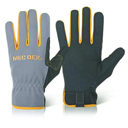 Mecdex Work Passion Mechanics Glove 2XL Ref MECDY-711XXL *Up to 3 Day Leadtime*
