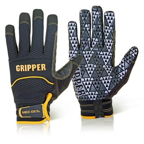 Mecdex Rough Gripper Mechanics Glove L Ref MECPR-741L *Up to 3 Day Leadtime*