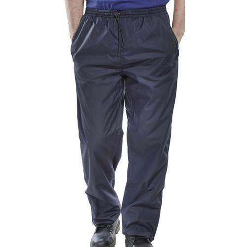 B-Dri Weatherproof Springfield Trousers Breathable Nylon 3XL Navy Blue Ref STNXXXL *Up to 3 Day Leadtime*
