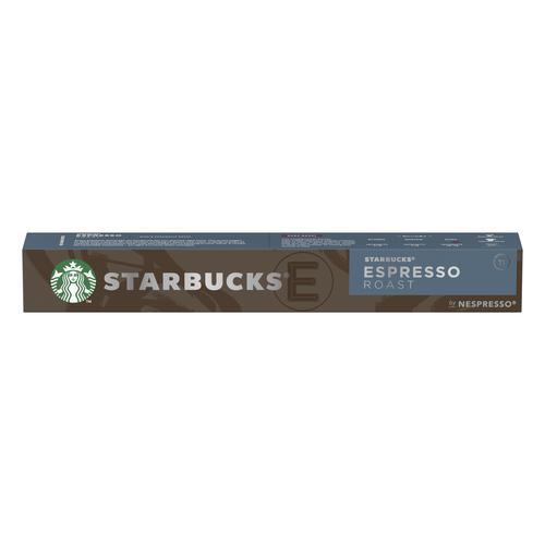 Starbucks by Nespresso Espresso Roast 10x12x57g 120 Pods Ref 12423393