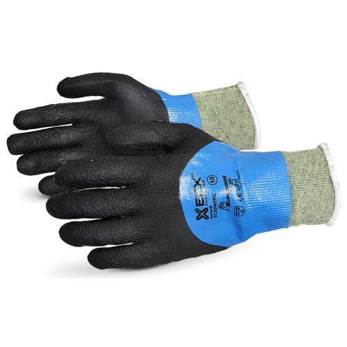 Superior Glove Emerald Cx Liquid Proof Kevlar/WireCore 10 Black Ref SUSCXPNTFC10 *Up to 3 Day Leadtime*