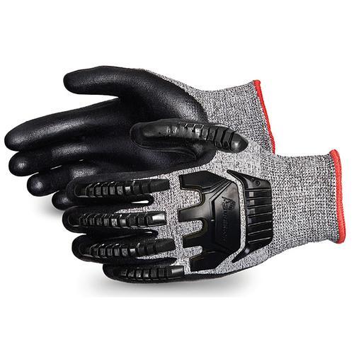 Superior Glove Tenactiv Anti-Impct Cut-Resist Nitr Palm 6 Black Ref SUSTAFGFNVB06 *Up to 3 Day Leadtime*
