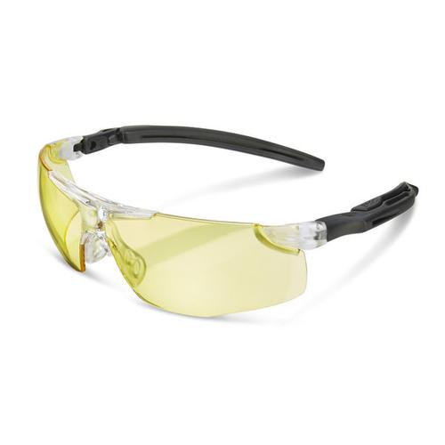 B-Brand Heritage H50 Anti-Fog Ergo Temple Spectacles Yellow Ref BBH50Y *Up to 3 Day Leadtime*