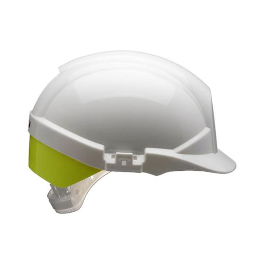Centurion Reflex Safety Helmet White with Yellow Rear Flash White Ref CNS12WHVYA *Up to 3 Day Leadtime*