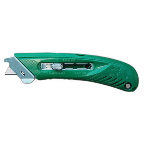 Pacific Handy Cutter Left Safety Cutter Ergonomic Design Red Ref S-4L *Up to 3 Day Leadtime*