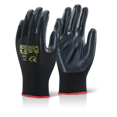 Click2000 Nite Star Glove Size 09 Black Ref NDGBL09 [Pack 100] *Up to 3 Day Leadtime*