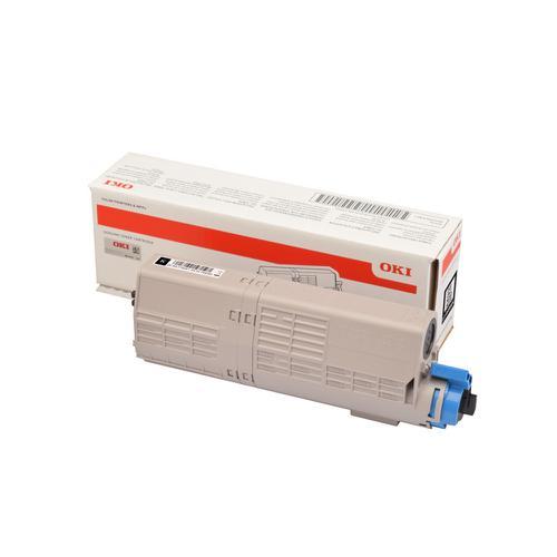Oki C532/MC573 Laser Toner Cartridge Page Life 1500pp Black Ref 46490404