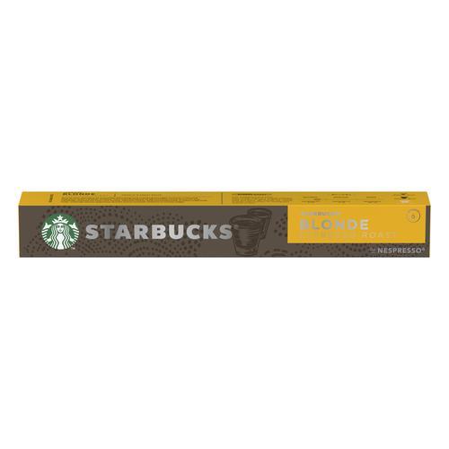 Starbucks by Nespresso Blonde Roast Espresso 10x12x57g 120 Pods Ref 12423392