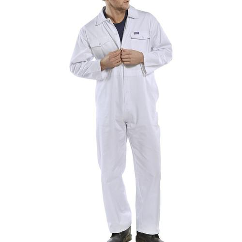 Click Workwear Boilersuit White Size 54 Ref PCBSW54 *Up to 3 Day Leadtime*