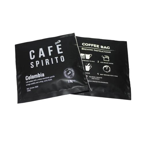 Cafe Spirito Coffee Bags Columbian [Pack 100]