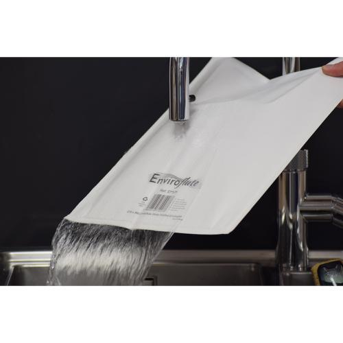 Enviroflute Paper Mailing Bag 270x360mm White [Pack 100] Ref EF5/H