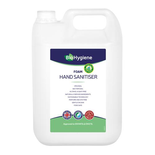 BioHygiene Foam Hand Sanitiser 5Litre Ref BH209