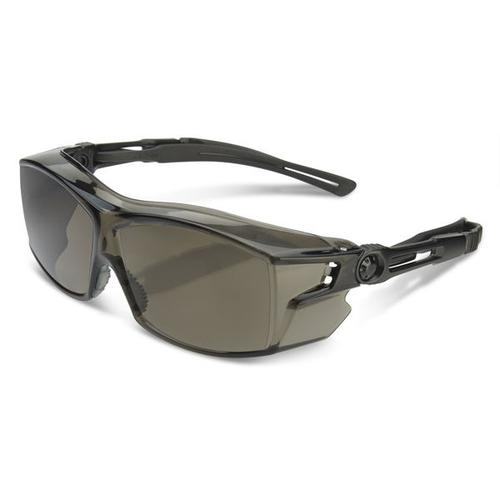 B-Brand Heritage H60 Ergo Temple Cover Spectacles Smoke Ref BBH60S *Up to 3 Day Leadtime*