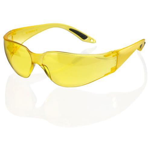 B-Brand Vegas Safety Spectacles Yellow Ref BBVSS2Y [Pack 10] *Up to 3 Day Leadtime*