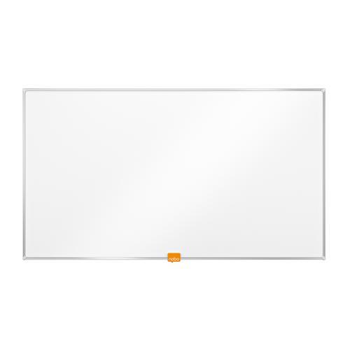 Nobo Whiteboard Widescreen 32 Inch Nano Clean Magnetic W710xH400 White Ref 1905296