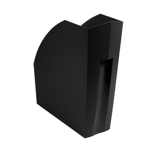 Exacompta Forever Magazine File Recycled Plastic W110xD292xH320mm Black Ref 180014D