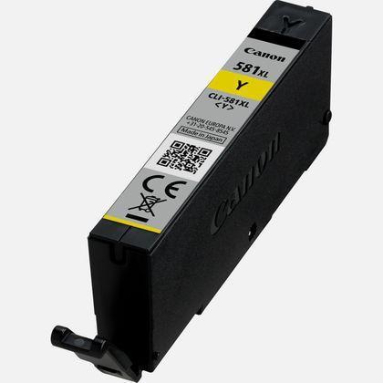 Canon CLI-581XL Inkjet Cartridge High Yield Page Life 914pp 8.3ml Yellow Ref 2051C001