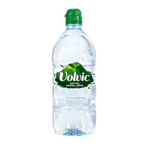Volvic Natural Mineral Water Still Bottle Plastic 1 Litre Ref 144900 Pack 12