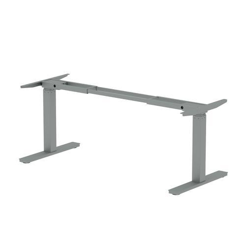 Trexus Sit Stand Leg Pack 1600mm width Silver Ref HA0001