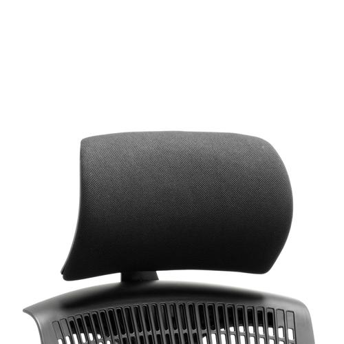 Trexus Flex Headrest Black Shell Fabric Black Ref OP000053