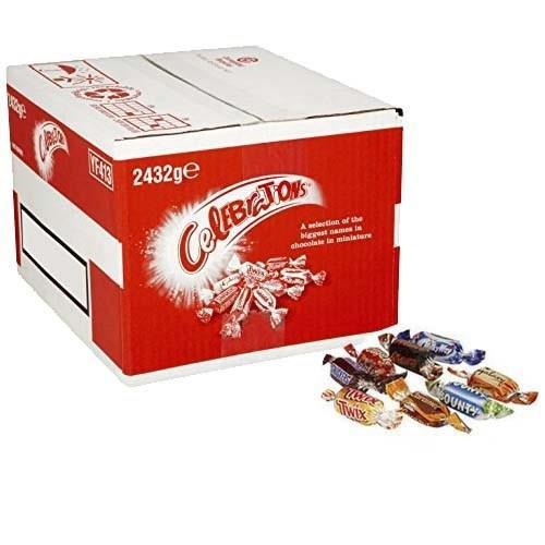 Celebrations Chocolates Assorted Flavours 2432g Bulk Case Ref 611635