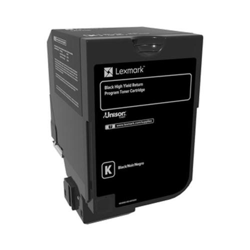 Lexmark CS720/CS725 Laser Toner Cart Return Programme High Yield Page Life 20000pp Black Ref 74C2HK0