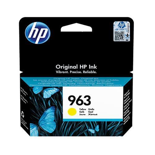 HP 3JA25AE 963 Yellow Ink 11ml