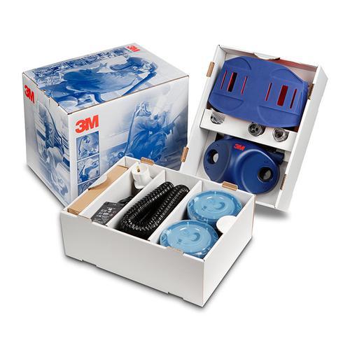 3M Ready To Use Starter Kit Air Respirator Blue Ref 3MRTUJUPITER *Up to 3 Day Leadtime*