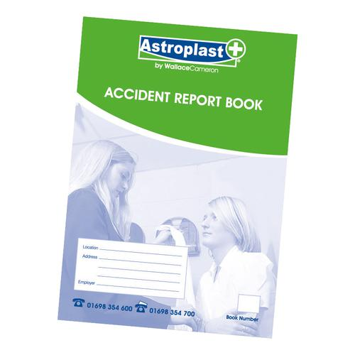 Astroplast Accident Report Book A5 Ref 5401009
