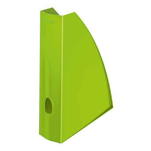 Leitz WOW Magazine File A4 Green Ref 52771054