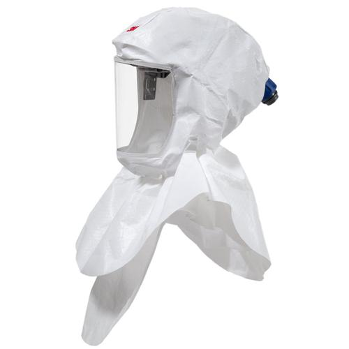 3M S657 Versaflo Headtop Hood Double Shroud Design White Ref 3MS657 *Up to 3 Day Leadtime*