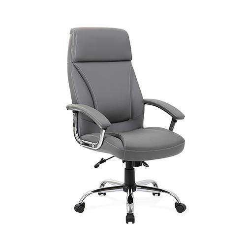 Trexus Penza Executive Chair Leather Grey Ref EX000195