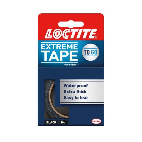Loctite Extreme Tape 10M Black Ref 2505718