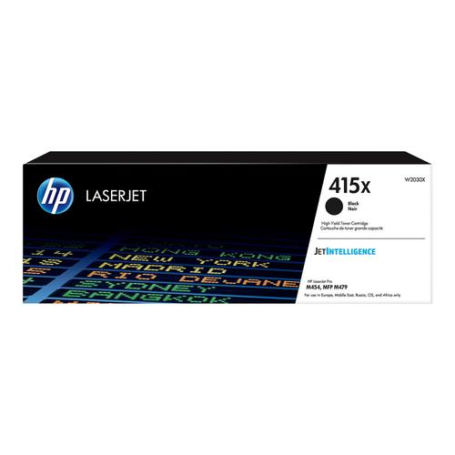 Hewlett Packard 415X Laser Toner Cartridge High Yield Page Life 7500pp Black Ref W2030X