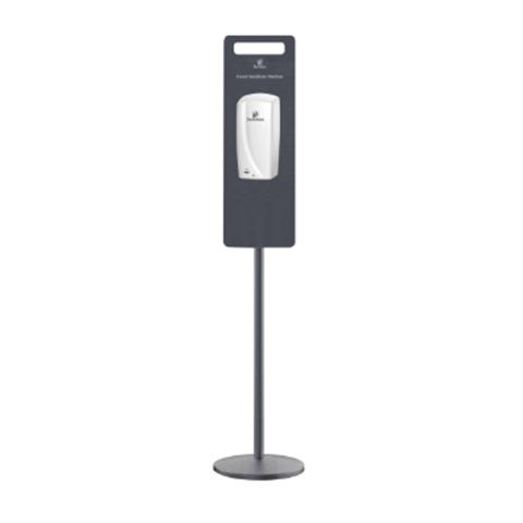 Pole Stand For Touch Free Dispenser (Not Included) Satin Grey 1425mm High Fits Code DIS13603