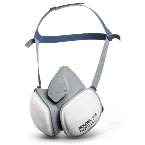 Moldex ABE1P3R Half Mask with Pleated Filter Technology Grey Ref M5330 *Up to 3 Day Leadtime*