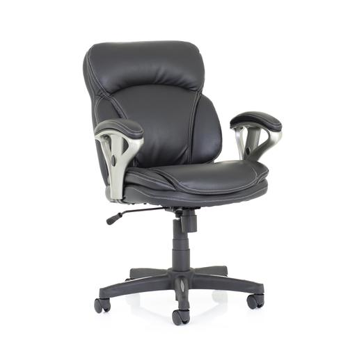 Trexus Photon Executive Chair Bonded Leather Black Ref EX000209