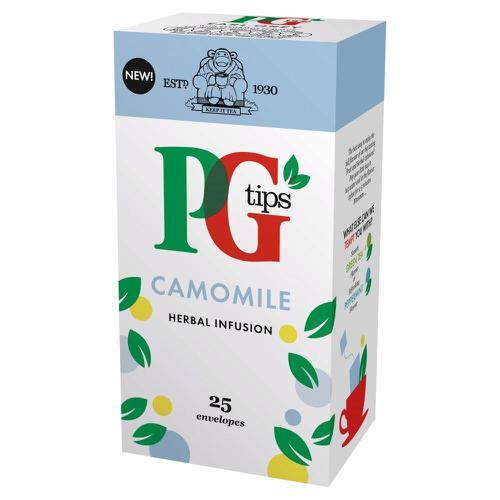 PG Tips Tea Bags Camomile Enveloped Ref 49095901 [Pack 25]