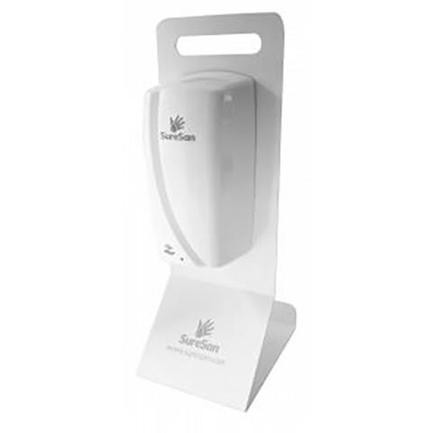 Desktop Stand For Touch Free Dispenser (Not Included) White,Fits Code DIS13603
